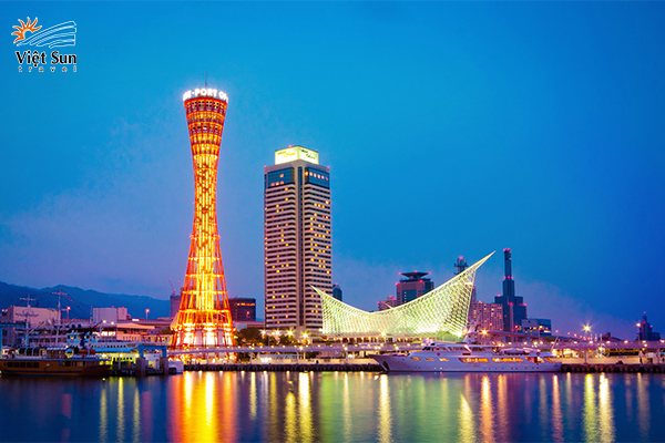 Tháp cảng Kobe Port Tower