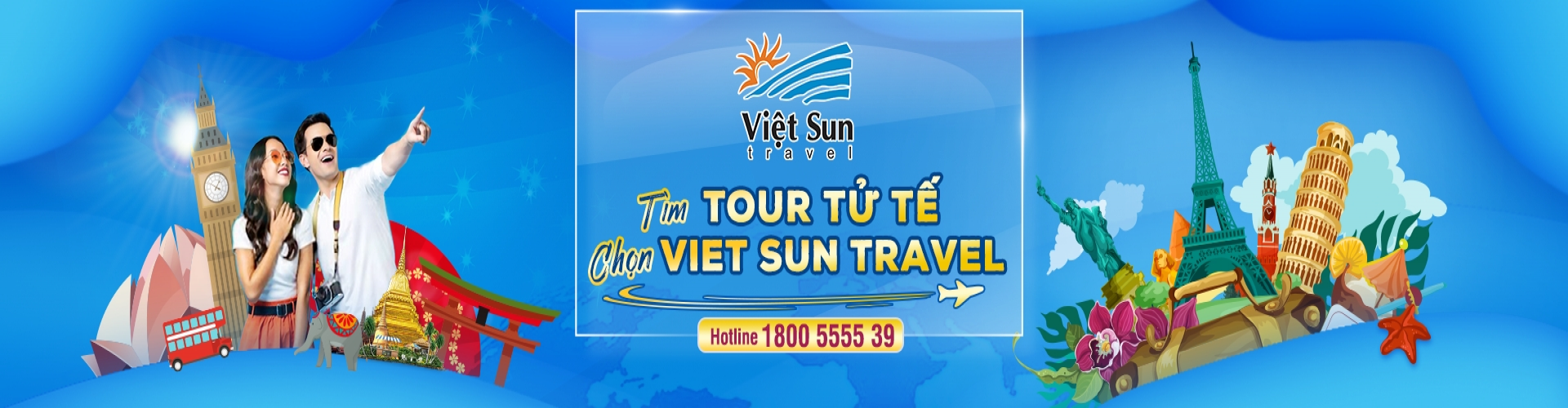 Slogan Viet Sun Travel